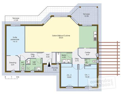 maison 224 ossature bois 1 d 233 du plan de maison 224 ossature bois 1 faire construire sa maison