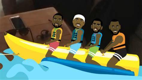 Banana Boat Group by Lebron Dwade Melo And Chris Paul Are Back At The Banana