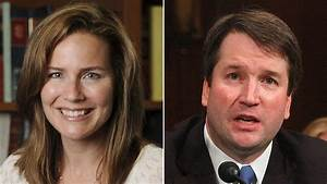 Judges Brett Kavanaugh and Amy Coney Barrett are leading ...