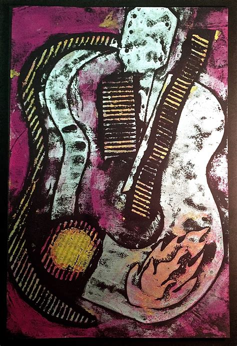 Collagraph Printmaking Lesson  Create Art With Me