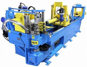 All-electric CNC tube benders hold four sets of bend tools ...