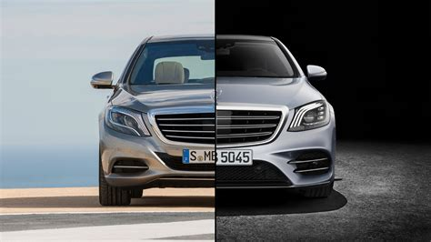 2018 Mercedes Sclass Facelift Spot The Difference