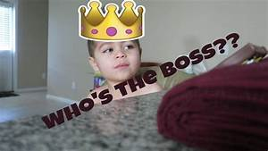 Who's the Boss??   NEW FOOD CHANNEL!! - Family Vlog #191 ...