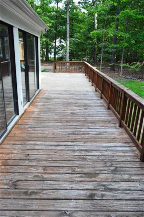 how to clean a deck for stain stains decks and puns