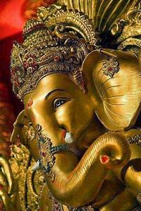 Golden Beautiful Lord Ganesha ... Blessing Us All ... Love ...