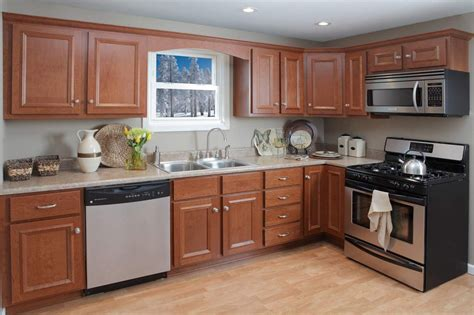 nappanee in princeton cider cherry kountry cabinets