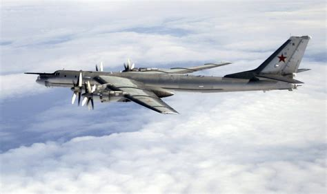 the aviationist 187 russian tu 95 bomber launches six cruise missiles during exercise