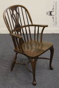 nichols oak bowback arm chair 705 750 ebay