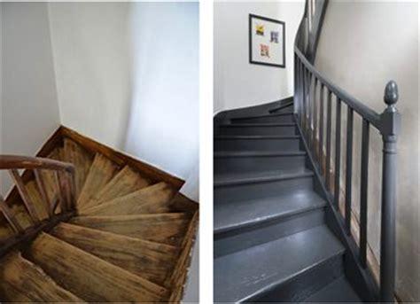 peindre un escalier en bois avec la peinture r 233 novation v33 photos comment et r 233 novation