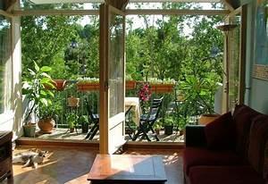 Mini Apartment Einrichten : utilidad de las plantas en la decoraci n de balcones ~ Markanthonyermac.com Haus und Dekorationen