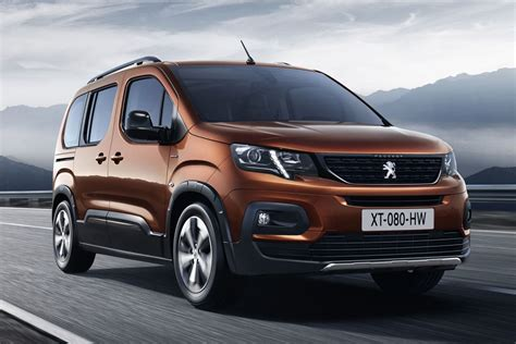 Peugeot Rifter (2018)  photos et infos officielles avant