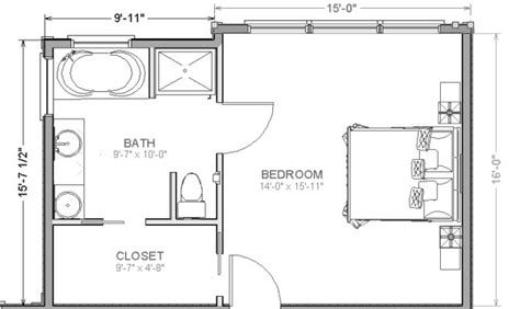 Photos And Inspiration Master Suite Layouts-house