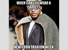#nyfw A meme based guide to New York Fashion Week