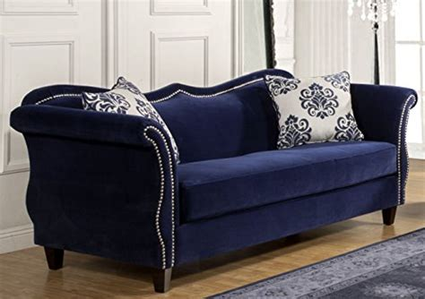 home beachside blue denim sofa home