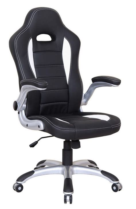 fauteuil de bureau design et confortable noir