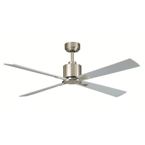 contempo 52 in indoor brushed nickel ceiling fan
