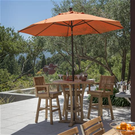 outdoor patio tables and chairs high bar tables outdoor bar height table with umbrella