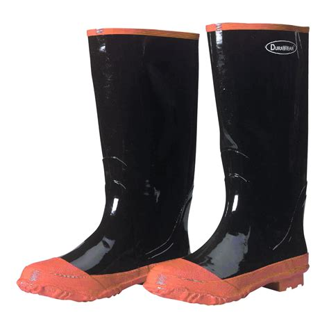 Rubber Boot Toe Covers by Durawear 174 Plain Toe Rubber Boots