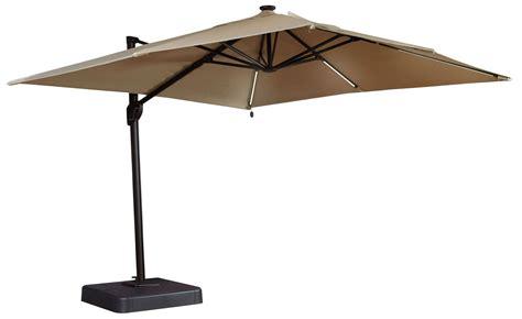 oakengrove linen large cantilever umbrella p017 991