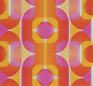 Tapete 70er Jahre : absolut echt retro tapete 70er jahre tapete as 95528 4 retro pink rot orange 3 ebay ~ Markanthonyermac.com Haus und Dekorationen