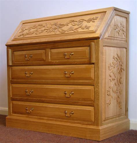 Maple dining room set, bedroom bureau furniture black