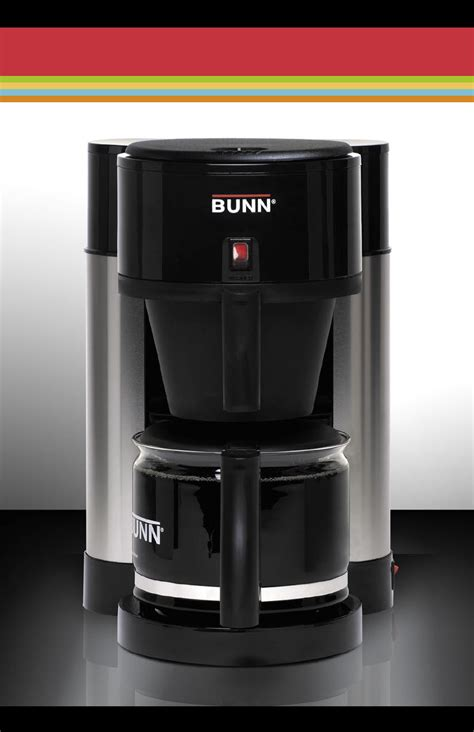 Bunn Coffeemaker NHBX B User Guide   ManualsOnline.com