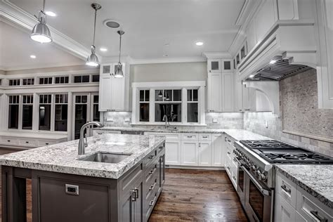 White Galaxy Granite For Stylish And Affordable Kitchen