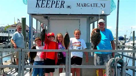 Party Boat Rental Margate Nj margate ventnor back bay party boat flounder fishing