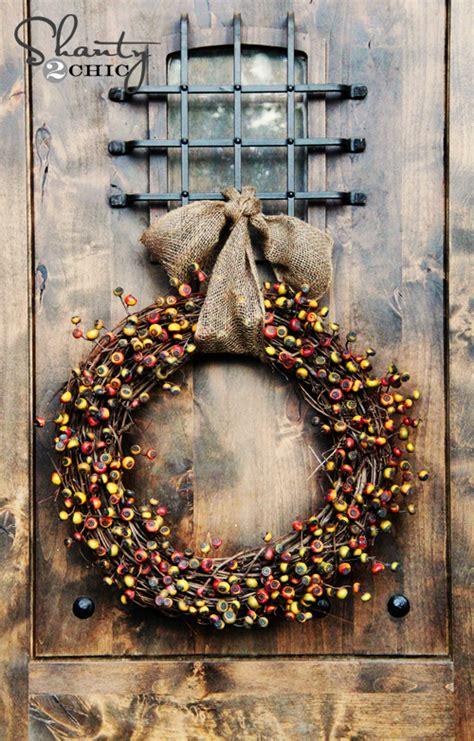 Diy Fall Wreath  Fireside Dreamers