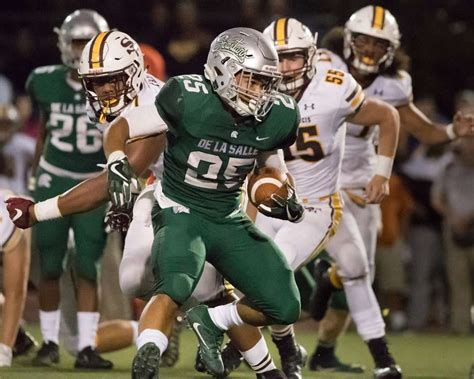 fumble return sparks de la salle past st francis san francisco chronicle