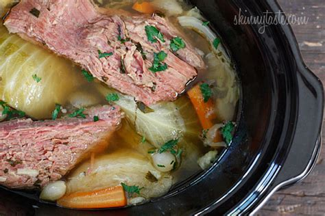 crock pot corned beef and cabbage farm meets fork