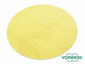 Teppich Rund 160 : bijou petticoat gelb kettel teppich 160 cm rund vorwerk sonderediton ebay ~ Markanthonyermac.com Haus und Dekorationen