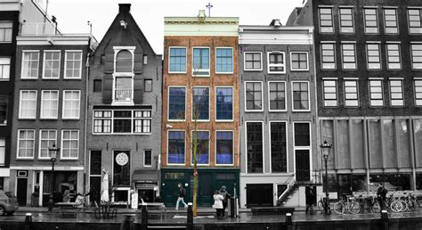 Anne Frank House, The Anne Frank Hideout In Amsterdam