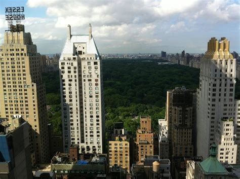 view of central park from the hotel roof picture of le meridien new york new york city