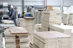 Travail Industriel  Usine En Bois Et De Meubles Image