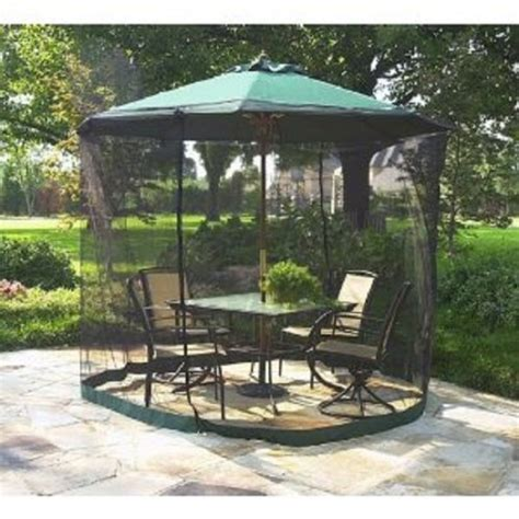 Mosquito Netting For Patio Umbrella by 5 Best Umbrella Table Screen Keep Pests From Bothering