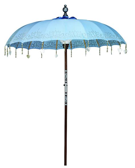 sea painted sun parasol by indian garden company notonthehighstreet