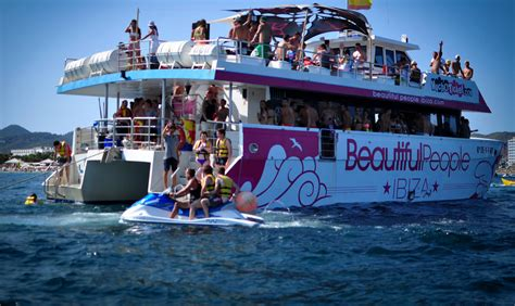 On A Boat Party by Beautiful People Ibiza Boat Party Boat Parties Info