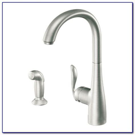 moen kitchen faucet leaking at base rv faucet repair how