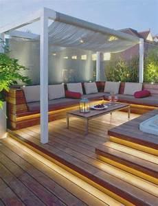 Kleine Terrasse Gestalten : innenarchitektur kleines terrasse gestalten hang terrasse modern garten ideen terrasse ~ Markanthonyermac.com Haus und Dekorationen