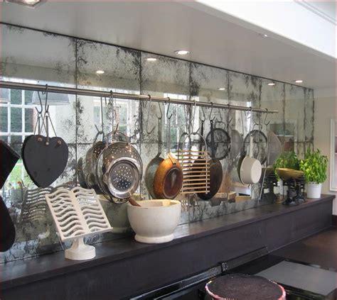 antique mirror backsplash home design ideas