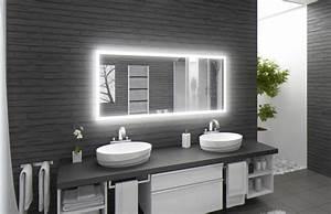 Spiegel Mit Hinterleuchtung : methline gmbh led spiegel m303 l4 wandspiegel ~ Markanthonyermac.com Haus und Dekorationen