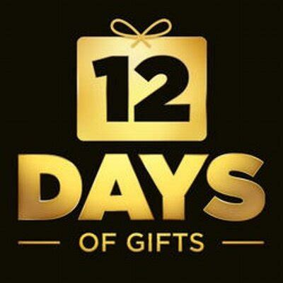 12 Days Of Gifts (@12days) Twitter