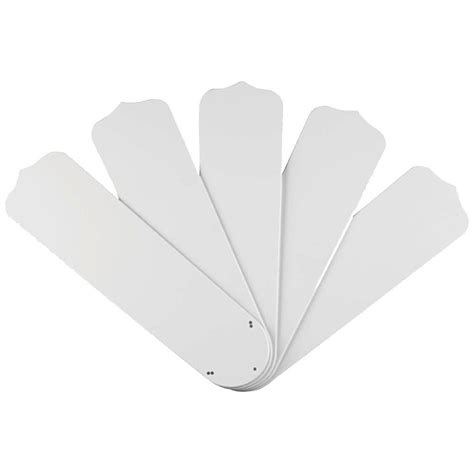 westinghouse 52 in white outdoor replacement fan blades 5 pack 7741400 the home depot