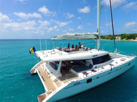 Catamaran Barbados Silver Moon by Seaduced Ii Luxury Catamaran Barbados Barbados