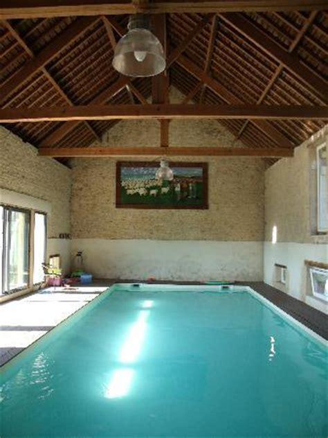 piscine interieure chauff 233 e picture of la fresnee mosles tripadvisor