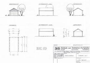 Grundriss Schnitt Ansicht : baugenehmigung f r garagen ~ Markanthonyermac.com Haus und Dekorationen