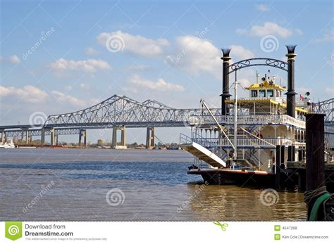 Bow Of A Boat In French by New Orleans River Boat Royalty Free Stock Photos Image