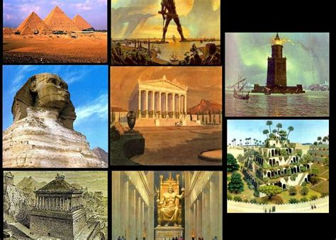 the 7 wonders of the ancient world 7 wonders of the world
