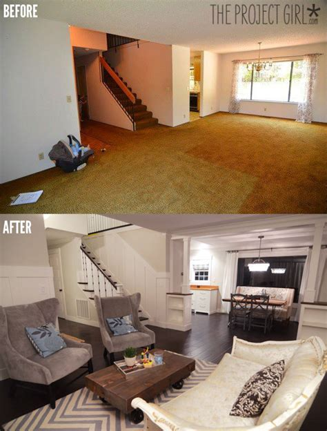 living room makeovers diy the project house links jenallyson the project